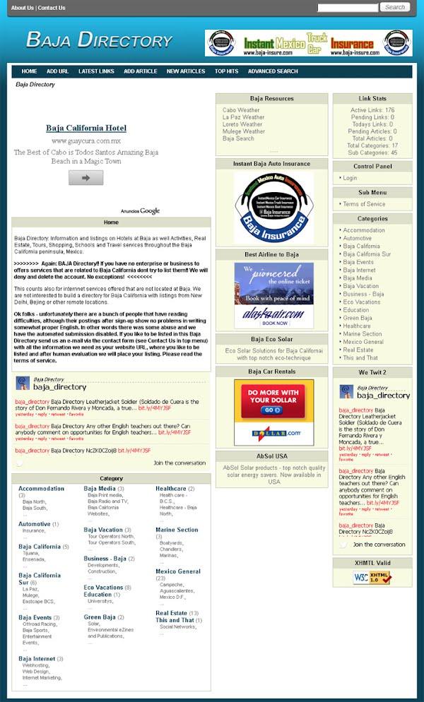 Baja California Directory